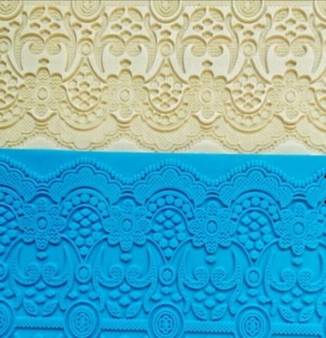 Текстурный коврик Кружево, Арт.PO-0520, силикон