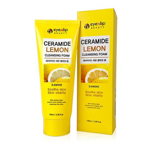 Пенка для умывания Eyenlip с керамидами и лимоном 100 мл