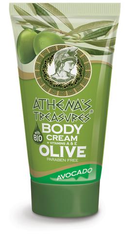 Крем для тела Авокадо от ATHENA'S TREASURES