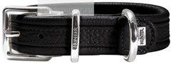 Ошейник для собак Hunter Special Edition 60 (46-52 см), кожа черный