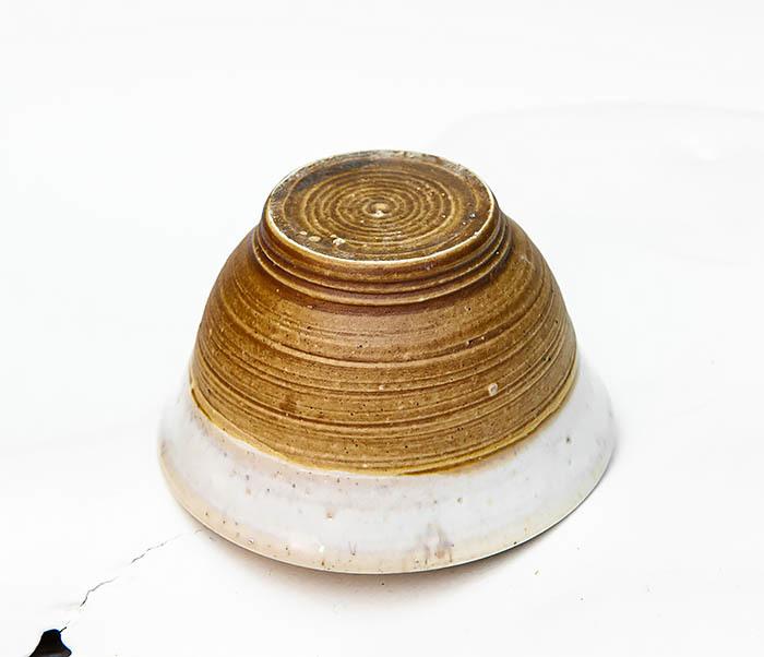 CUP115 Пиала ручной работы коричневого цвета фото 03