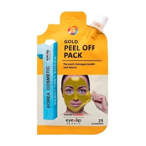 Eyenlip Маска-пленка очищающая Gold Peel Off Pack, 25 гр