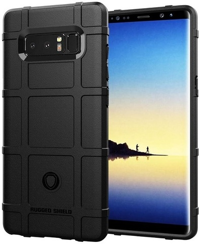 Чехол Samsung Galaxy Note 8  цвет Black (черный), серия Armor, Caseport