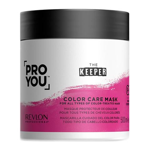 REVLON ProYou Keeper: Маска защита цвета для всех типов окрашенных волос (Color Care Mask), 500мл