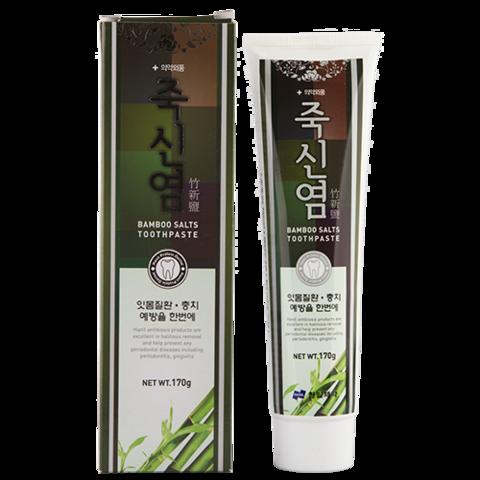 Hanil Bamboo Salts Toothpaste зубная паста с бамбуковой солью для профилактики слабых десен