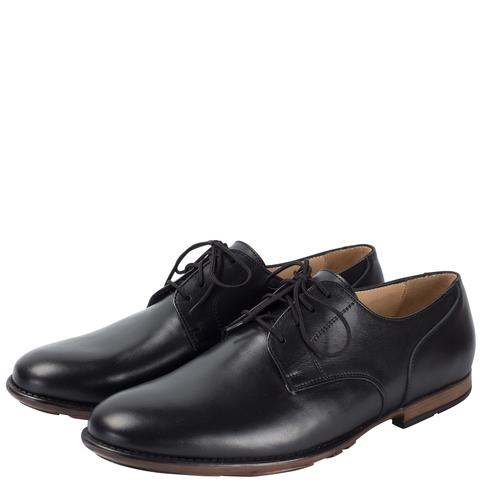 697280 туфли мужские черные. КупиРазмер — обувь больших размеров марки Делфино