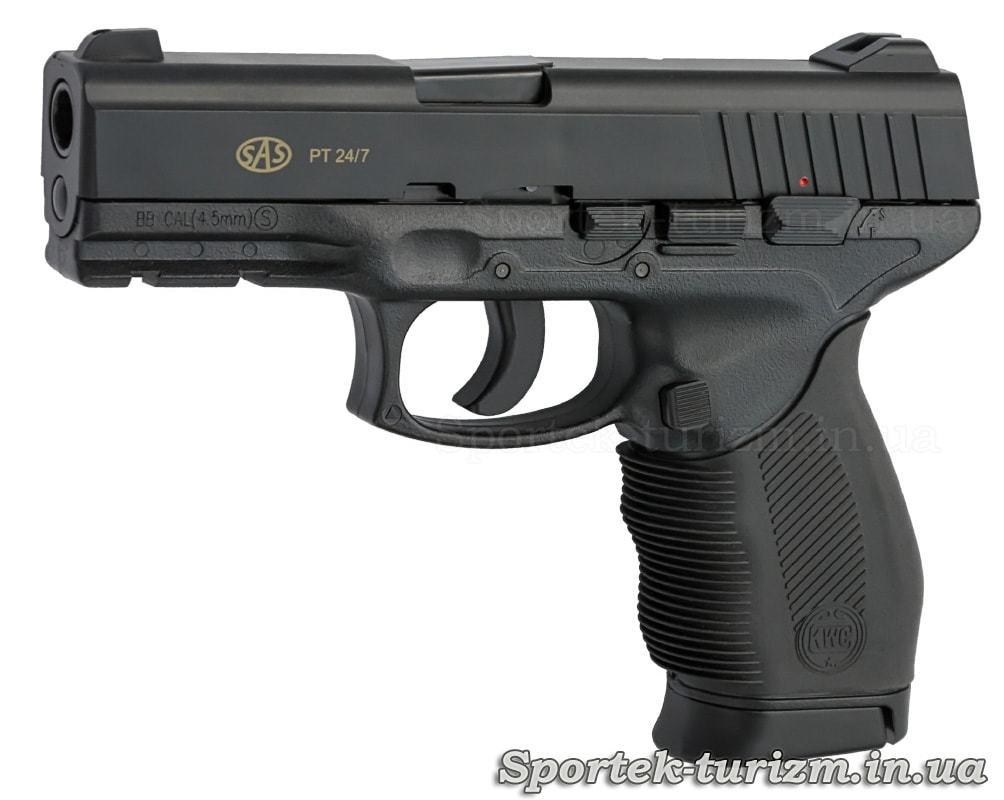 Пистолет пневматический SAS PT 24/7 калибра 4,5 мм,