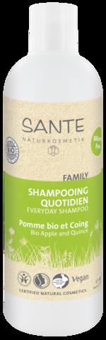 Sante Family шампунь для ежедневного использования с Био-Яблоком и Айвой
