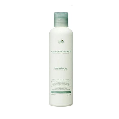 La'dor Профессиональный укрепляющий шампунь с хной Pure Henna Shampoo 200мл