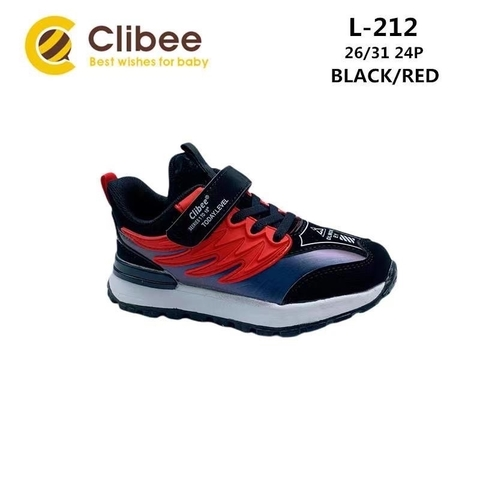 Clibee L212 Black/Red 26-31