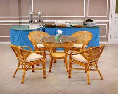Комплект обеденный JAVA-5 (стол + 4 кресла)