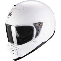 Мотошлем Scorpion EXO HX1 Solid, белый