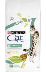 Корм для стерилизованных кошек и кастрированных котов, Purina Cat Chow Sterilised, с домашней птицей