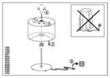 Настольная лампа Eglo PASTERI 95725 3