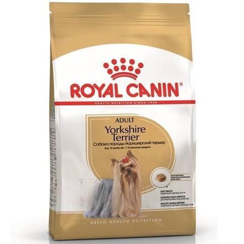 Royal Canin Yorkshire Terrier Adult (3 кг) для взрослых собак породы йоркширский терьер