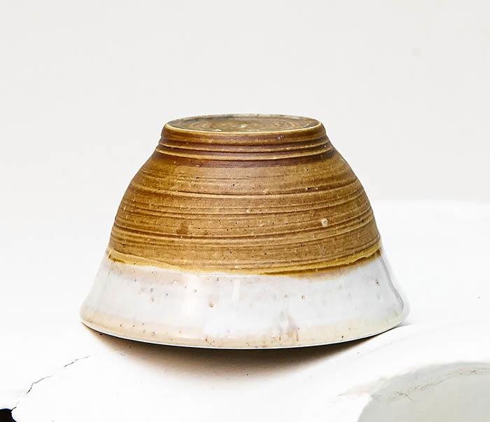 CUP115 Пиала ручной работы коричневого цвета фото 05