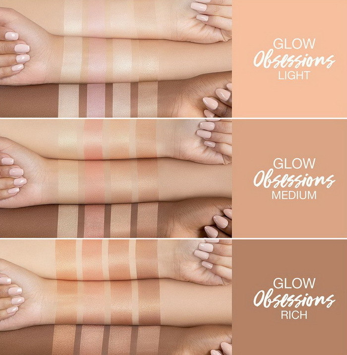 Huda Beauty Glow Obsessions Highlighter Palette