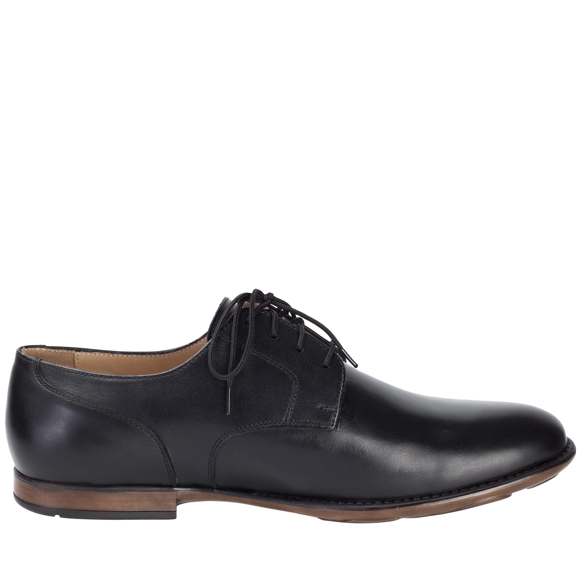 697280 туфли мужские черные больших размеров марки Делфино