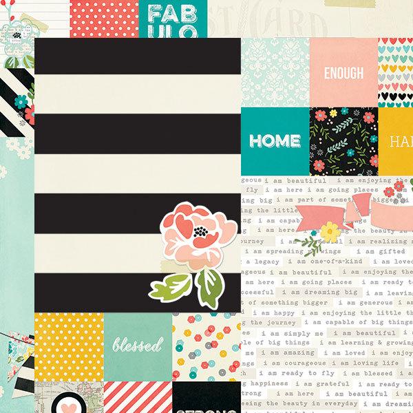 Журнальные карточки  I AM... by Simple Stories