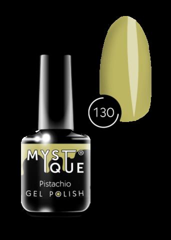 Mystique Гель-лак #130 «Pistachio» 15 мл