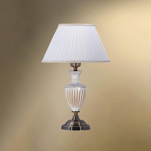 Настольная лампа с абажуром 26-01.56/38363 ВУДСТОК