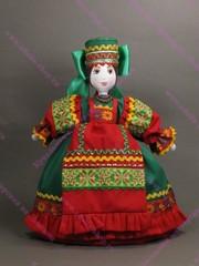 Текстильная Кукла-Грелка на чайник
