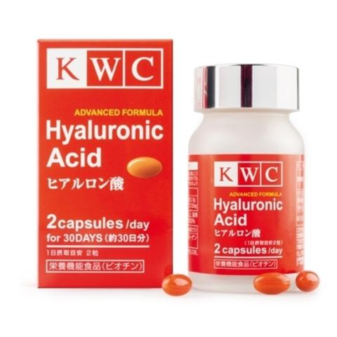Гиалуроновая кислота, KWC, 60 капсул