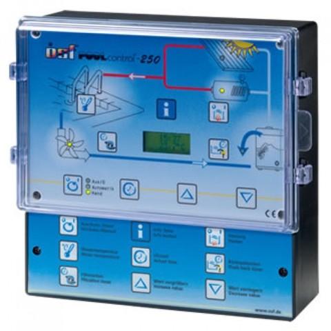 Панель управления фильтрацией и нагревом OSF Pool-Control-250, 220/380В, 3кВт, защита до 8А