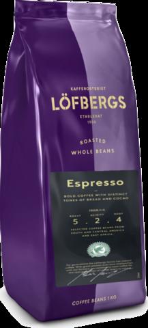 Кофе в зернах Lofbergs Espresso 1 кг