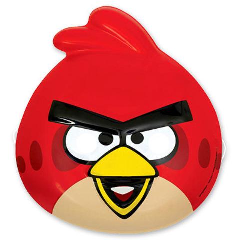 Маска Angry Birds пластик/А