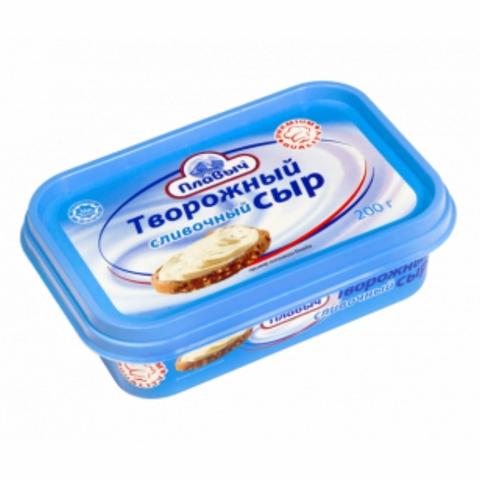 Сырный продукт Творожный Крем Сливочный 200 г Плавыч РОССИЯ