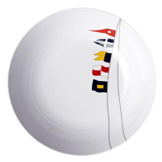 MELAMINE NON-SLIP SOUP/CEREAL BOWL, REGATA