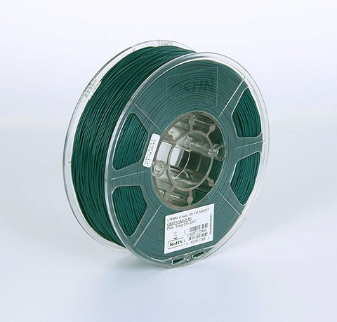ESUN eLastic 1.75 мм 1кг., зеленый