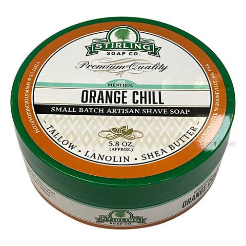 Мыло для бритья Stirling Orange Chill 170 мл