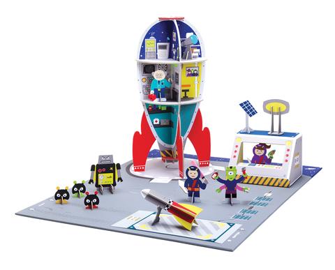Игровой набор Krooom Космическая станция