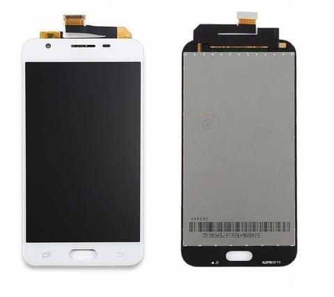 LCD SAMSUNG J3 (2017) J327 + Touch White Orig MOQ:5