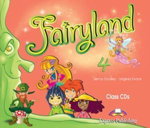Fairyland 4. Class CD's (set of 4). Аудио CD для работы в классе (4 шт.)