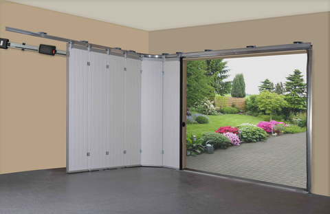 Секционные гаражные ворота 2500 х 2125