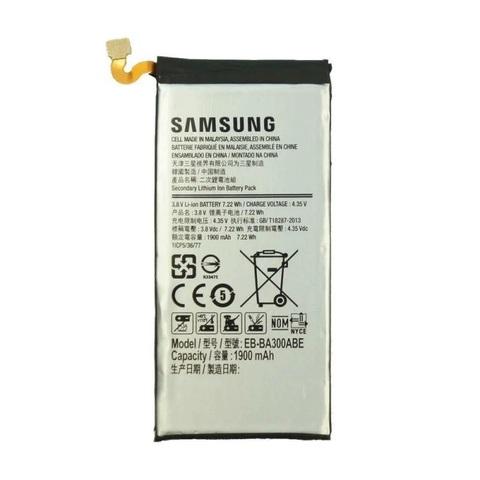 Battery SAMSUNG EB-BA300ABE A300F 1800mAh MOQ:20