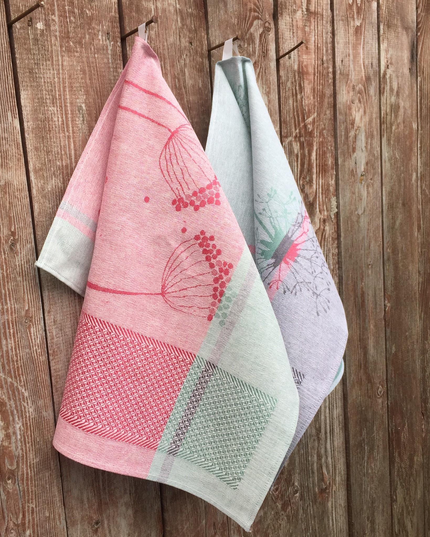 Кухонное полотенце из льна и хлопка