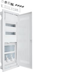 Щит Volta встраиваемый, 24 мод + 2 монтажные панели мультимедиа, пластиковая дверь