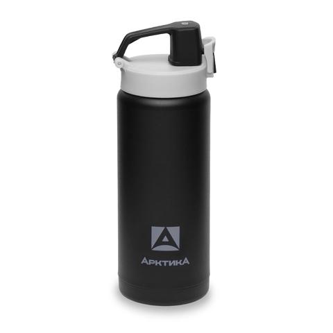 Термос (сититерм-вакуумный) Арктика (0,5 литра),черный