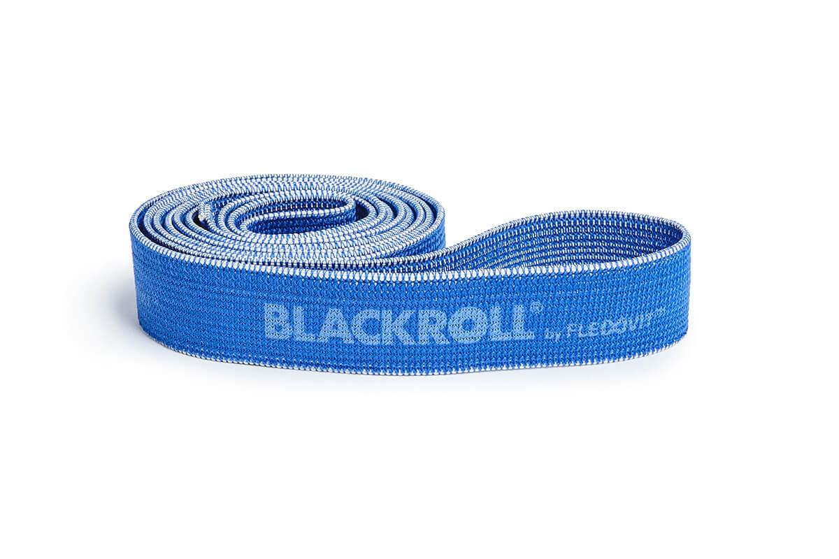 Оборудование BLACKROLL® для тренинга Эспандер-лента текстильная BLACKROLL® SUPER BAND 104 см (тяжелое сопротивление, синяя) BR_2018-10_SUPER-BAND_07083_SebastianSchöffel.jpg