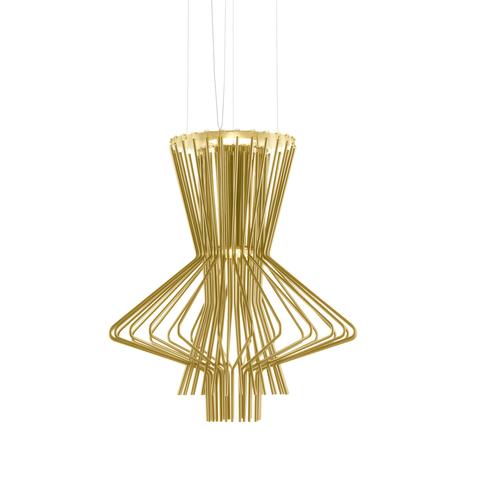 Подвесной светильник копия Allegretto Ritmico by Foscarini (золотой)
