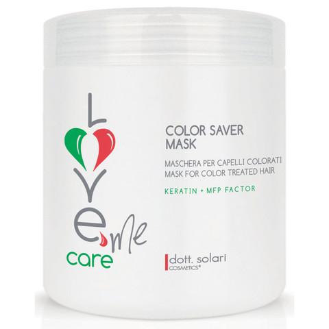 Маска для сохранения цвета волос