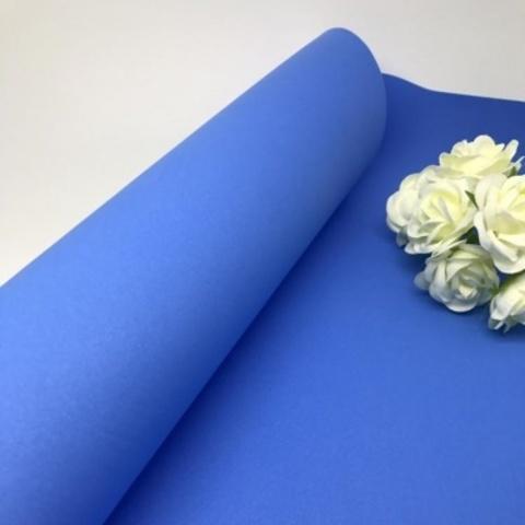Фоамиран зефирный. Цвет: Синий 045