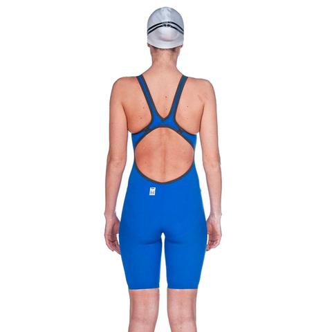 (2020) Cтартовый костюм Arena Powerskin Carbon AIR² Open Back electric blue-dark grey-fluo yellow