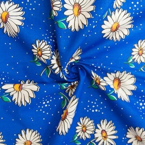 Бязь плательная 150 см 1579/1 цвет синий