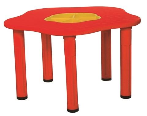 """Детский столик """"Сэнди"""", с системой хранения мелочей, цвет Красный"""