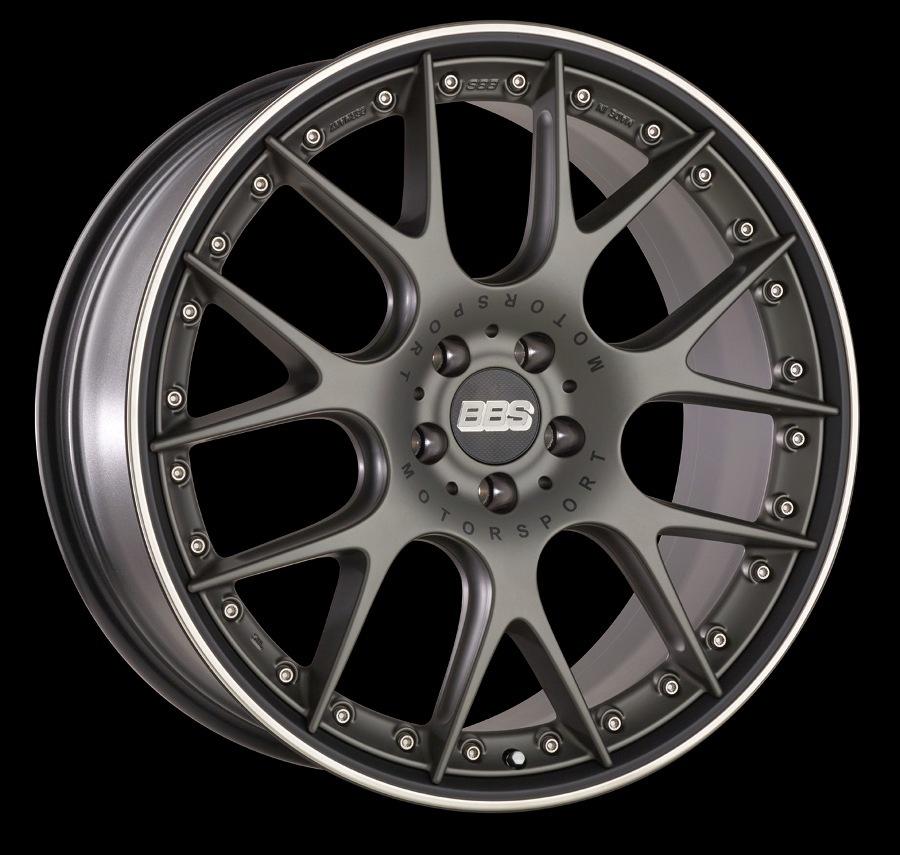 Диск колесный BBS CH-R II 10.5x22 5x112 ET18 CB66.5 satin platinum